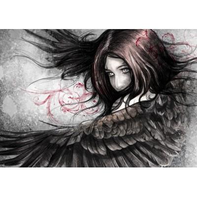 Puzzle Grafika-00007 The Eagle woman