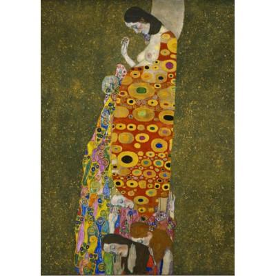 Puzzle Grafika-00015 Gustav Klimt: Hope II, 1907-1908