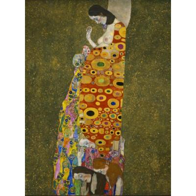 Puzzle Grafika-00017 Gustav Klimt: Hope II, 1907-1908