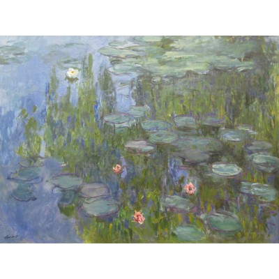 Puzzle Grafika-00034 Claude Monet: Nymphéas, 1915
