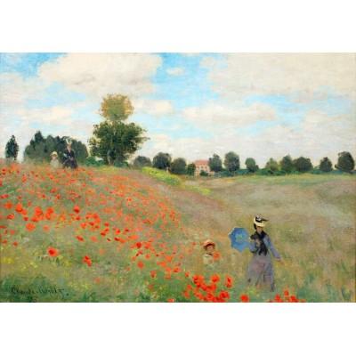 Puzzle Grafika-00057 Claude Monet - Poppies, 1873