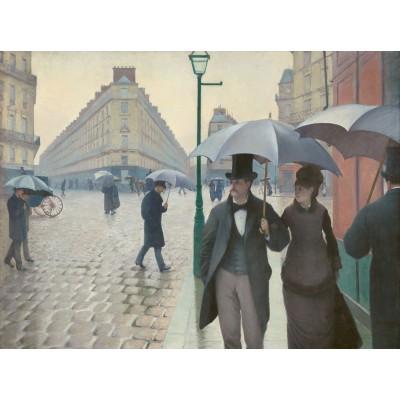 Puzzle Grafika-00095 Gustave Caillebotte : Paris Street, Rainy Day, 1877