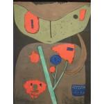 Puzzle  Grafika-00104 Paul Klee : Figure of the Oriental Theater, 1934