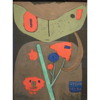 Puzzle Grafika-00104 Paul Klee : Figure of the Oriental Theater, 1934