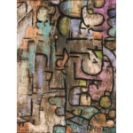 Puzzle  Grafika-00107 Paul Klee : After The Flood, 1936