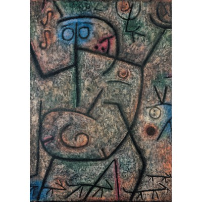 Puzzle Grafika-00109 Paul Klee : Oh! These Rumors!, 1939