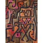 Puzzle  Grafika-00111 Paul Klee : Forest Witches, 1938