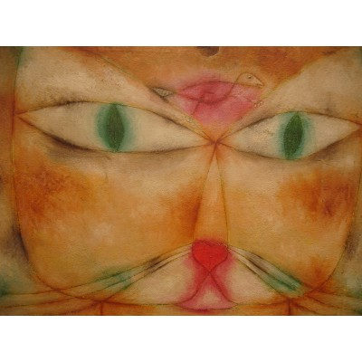 Puzzle Grafika-00115 Paul Klee : Cat and Bird, 1928