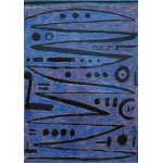 Puzzle  Grafika-00117 Paul Klee : Heroic strokes of the bow, 1938