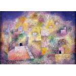 Puzzle  Grafika-00118 Paul Klee : Oriental pleasure garden, 1925