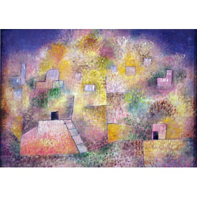 Puzzle Grafika-00118 Paul Klee : Oriental pleasure garden, 1925