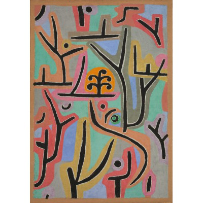 Puzzle Grafika-00120 Paul Klee : Parc near Lu, 1938