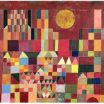 Puzzle  Grafika-00121 Paul Klee : Castle and Sun, 1928