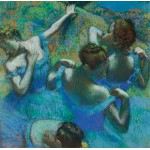 Puzzle  Grafika-00132 Edgar Degas - The Blue Dancers, 1897