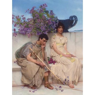 Puzzle Grafika-00160 Sir Lawrence Alma-Tadema : An eloquent silence