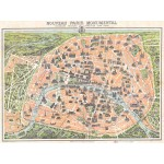 Puzzle  Grafika-00164 Plan of Paris, 1900