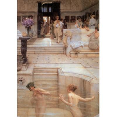 Puzzle Grafika-00171 Sir Lawrence Alma-Tadema: A Favourite Custom, 1909