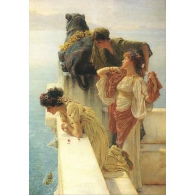 Puzzle Grafika-00172 Sir Lawrence Alma-Tadema: A Coign of Vantage, 1895