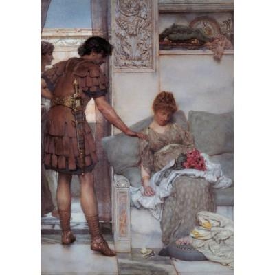 Puzzle Grafika-00182 Sir Lawrence Alma-Tadema : A Silent Greeting