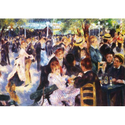 Puzzle Grafika-00226 Auguste Renoir : Bal du Moulin de la Galette, 1876