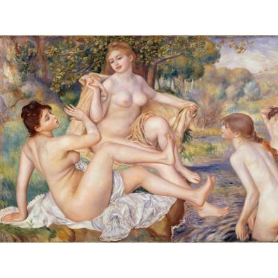 Puzzle Grafika-00247 Auguste Renoir : Les Grandes Baigneuses, 1887