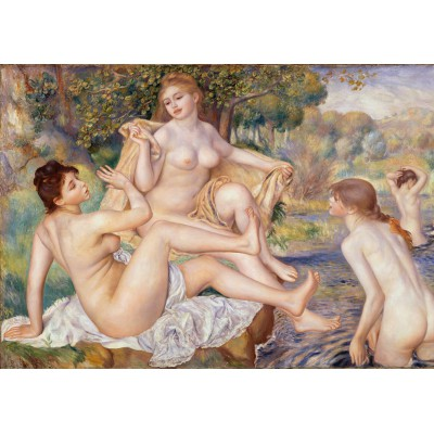 Puzzle Grafika-00257 Auguste Renoir : Les Grandes Baigneuses, 1887