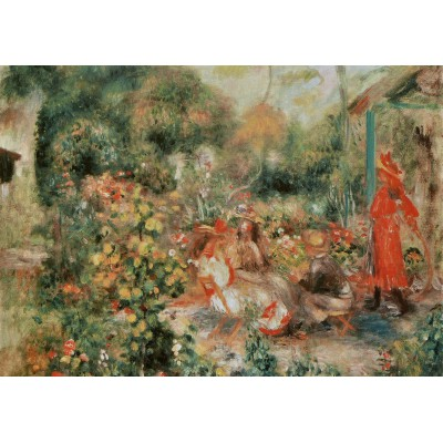Puzzle Grafika-00264 Auguste Renoir : Jeunes Filles dans un Jardin, 1893-1895