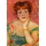 Puzzle  Grafika-00269 Auguste Renoir : La Rêverie, 1877