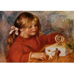 Puzzle  Grafika-00271 Auguste Renoir: Claude Renoir jouant, 1905