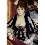 Puzzle  Grafika-00283 Auguste Renoir : La Loge, 1874