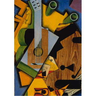 Puzzle Grafika-00293 Juan Gris : Still Life with a Guitar, 1913