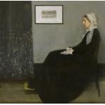 Puzzle  Grafika-00296 James Whistler : Whistler's Mother, 1871 (Arrangement in Grey and Black No.1)