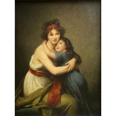 Puzzle Grafika-00300 Elisabeth Vigée-Lebrun : Madame Vigée-Lebrun et sa fille, 1789