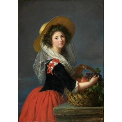 Puzzle Grafika-00302 Elisabeth-Louise Vigée Le Brun : Portrait de Marie Gabrielle de Gramont, Duchesse de Caderousse, 178