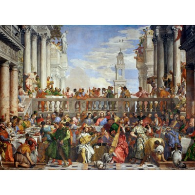 Puzzle Grafika-00305 Paolo Veronese : The Wedding at Cana, 1563