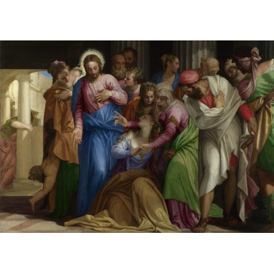 Puzzle Grafika-00308 Paolo Veronese : The Conversion of Mary Magdalene, 1548