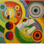 Puzzle  Grafika-00319 Robert Delaunay - Rhythm, Joy of Life, 1930