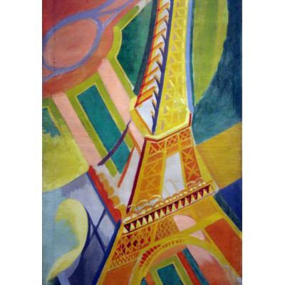 Puzzle Grafika-00322 Robert Delaunay: Eiffel Tower, 1926