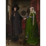 Puzzle  Grafika-00348 Jan Van Eyck : Les époux Arnolfini, 1434