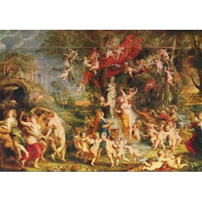 Puzzle Grafika-00349 Peter Rubens : La Fête de Vénus, 1635