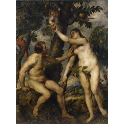 Puzzle Grafika-00355 Peter Rubens : Adam et Ève, 1628-1629