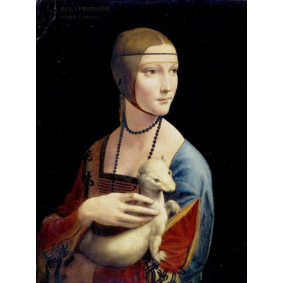 Puzzle Grafika-00376 Leonardo da Vinci, 1489-1490
