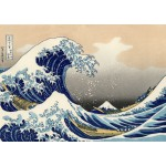 Puzzle  Grafika-00430 Katsushika Hokusai - The Great Wave off Kanagawa, 1820-1831