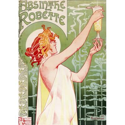 Puzzle Grafika-00496 Privat-Livemount - Absinthe Robette, 1896