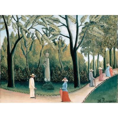 Puzzle Grafika-00503 Henri Rousseau: Le Jardin du Luxembourg, 1909