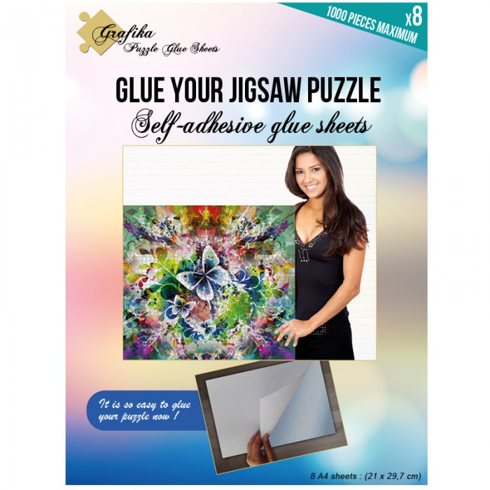Puzzle Glue Sheets for 1000 Pieces