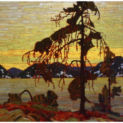 Puzzle Grafika-00545 Tom Thomson : The Jack Pine, 1916