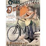 Puzzle  Grafika-00610 Vélos Decauville, 1892