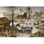 Puzzle  Grafika-00623 Brueghel Pieter: Numbering at Bethlehem
