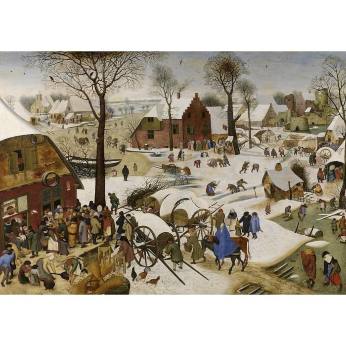 Brueghel Pieter: The Census at Bethlehem